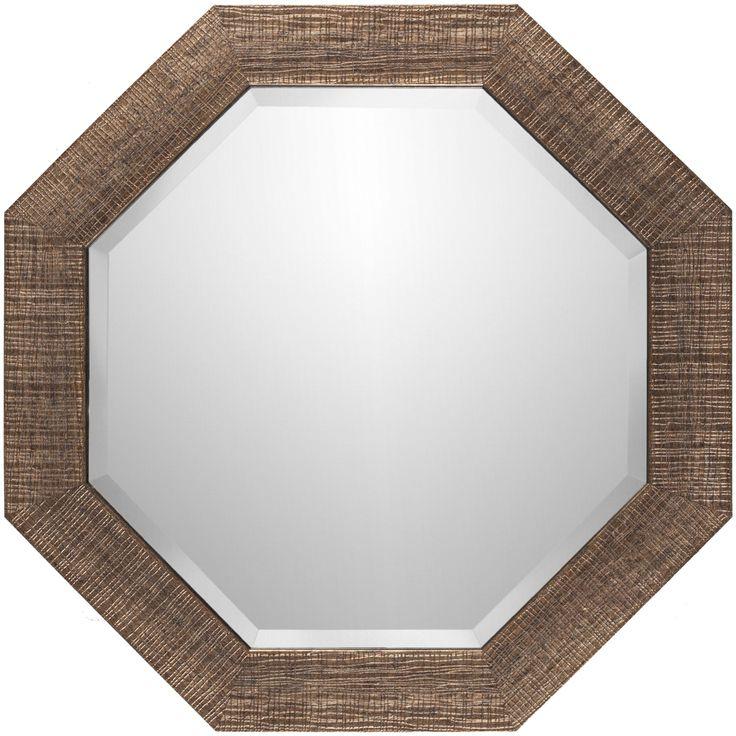 Gateway Octagon Wall Mirror Surya Octagon Mirrors Home Decor