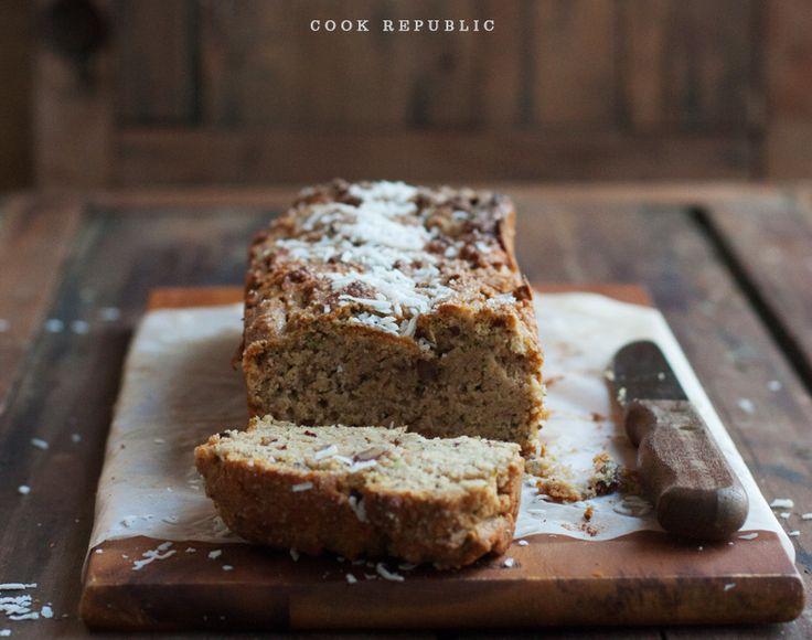 Zucchini Coconut Lunchbox Bread