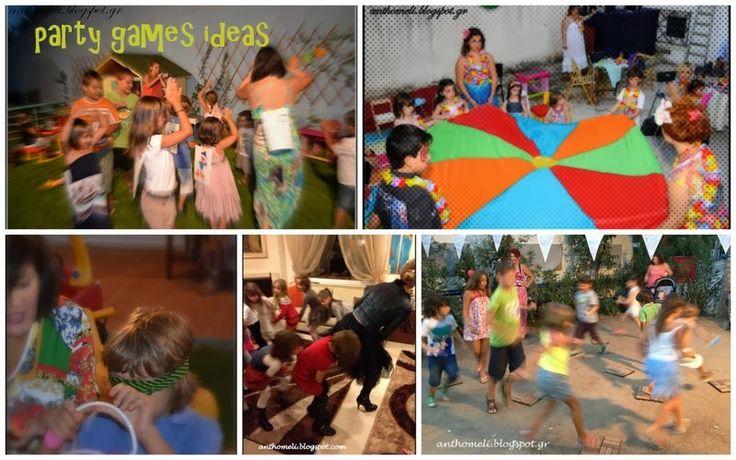Ανθομέλι: ΟΛΑ τα παιχνιδια για παιδικά πάρτυ (..και όχι μόνο) έτοιμα να τα εκτυπώσετε!