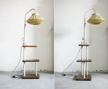Lampa / lata 60 70 / PRL / ciekawy design
