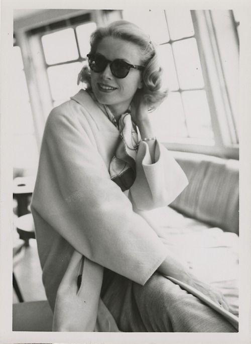 Grace Kelly, 1956. Photo: Howell Conant.