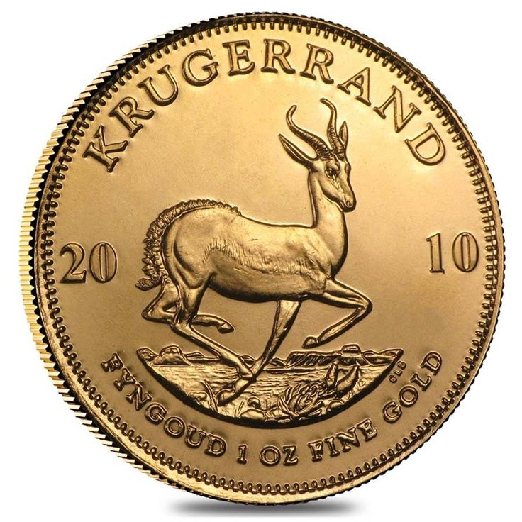 2010 South Africa 1 oz Gold Krugerrand BU - $1,441.34 - 1441.34