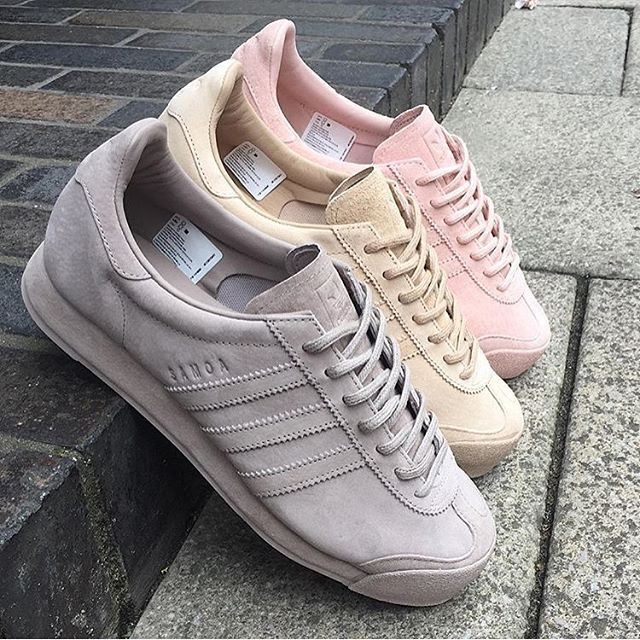 finest selection 771e3 751dd Adidas Originals Samoa pig skin  Pastel Pack    shoes   Adidas sneakers,  Adidas, Sneakers