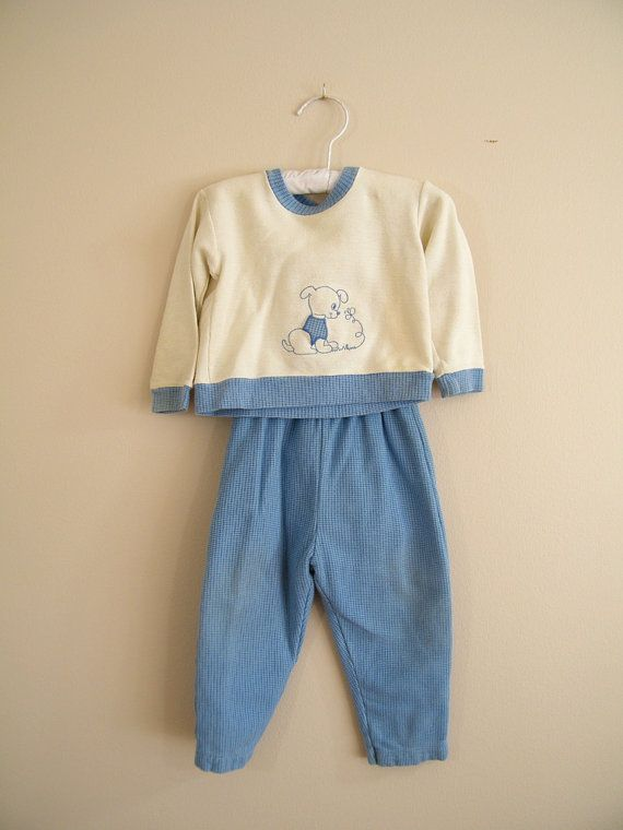 vintage baby boy baby boy clothes blue white