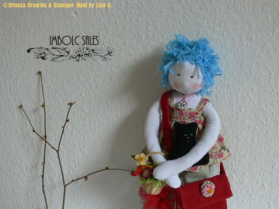 30 OFF SALE doll by SonnigerWald on Etsy, €28.00