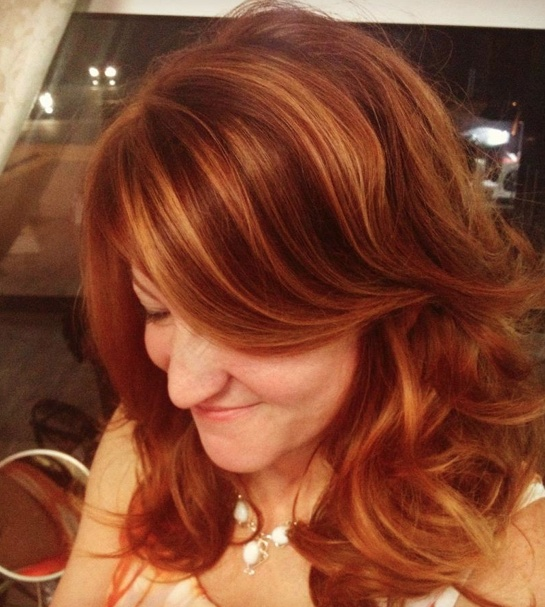 1000 ideas about red highlights on pinterest brown hair