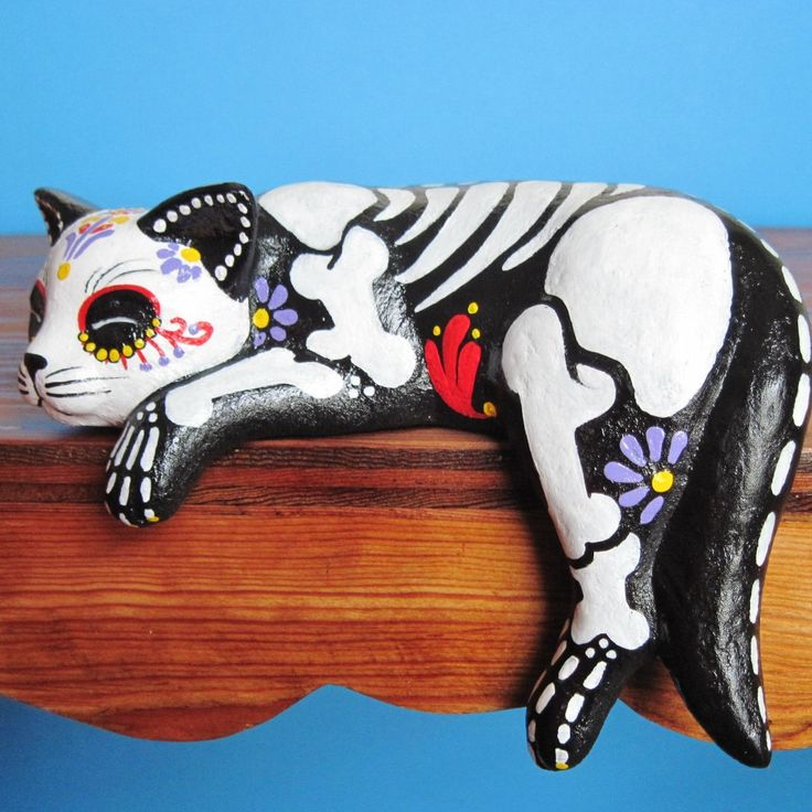 108 best images about dia de muertos on pinterest papel cat bookshelves cat bookshelf jigsaw puzzle