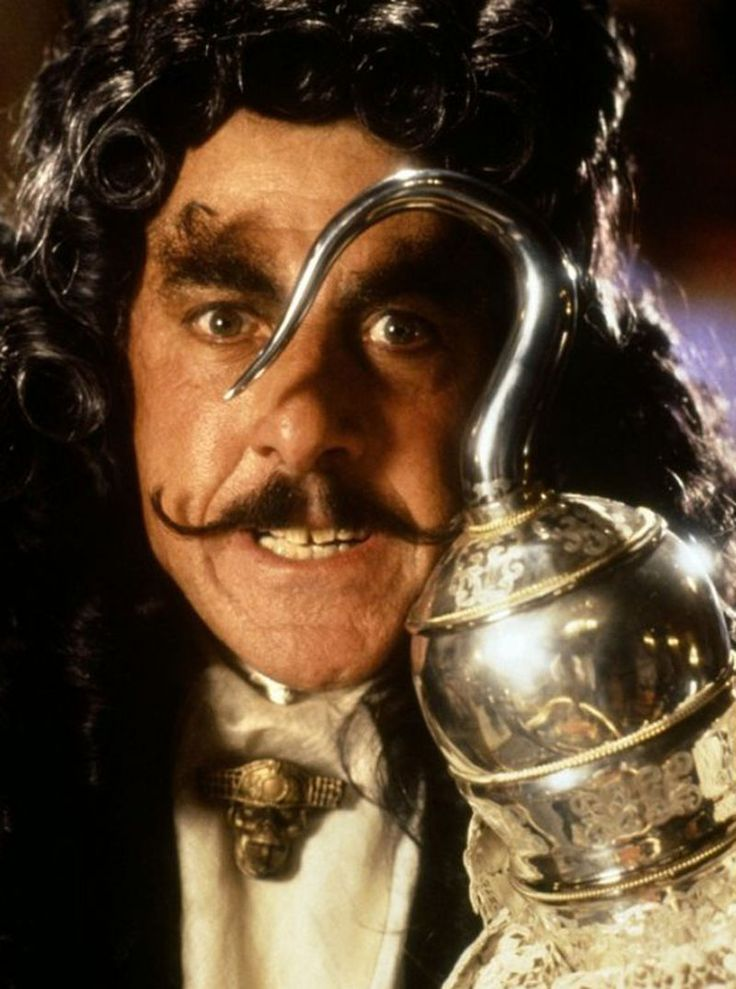 Dustin Hoffman as Captain James Hook - 'Hook' (1991)