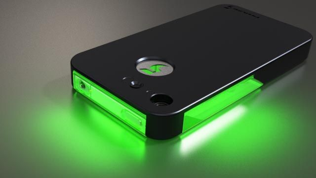 FLASHr iPhone 4 Case with LED Flash Notifier