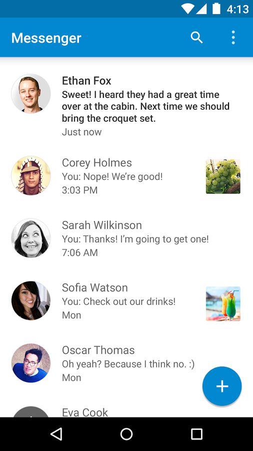 Messenger- screenshot