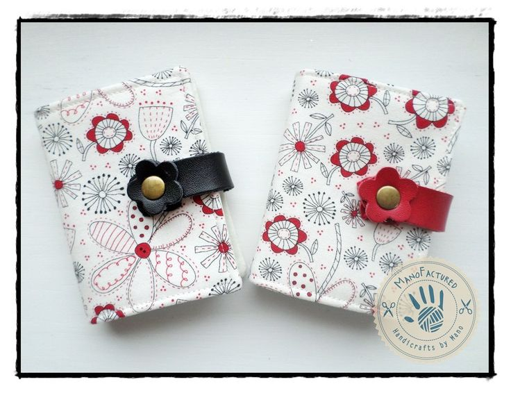 Springtime card holder by ManoFactured on Etsy