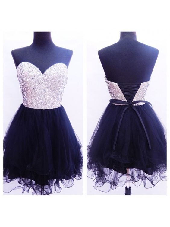 Sweatheart neck prom dress,strapless prom dress,homecoming prom dress,short prom dress,beautiful beading promg dress,elegant wowen dress,party dress,evening dress,dress for teens L646