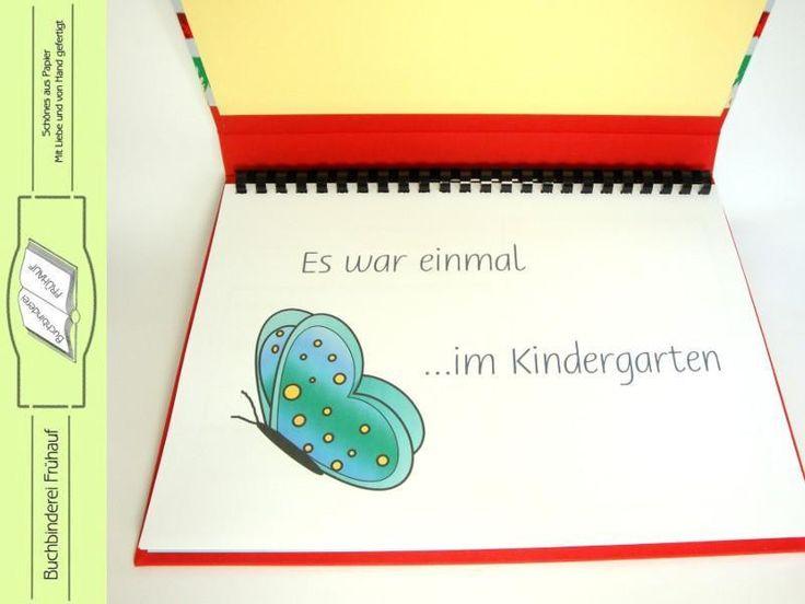 Abschiedsbuch für die Kindergärtnerin von Buchbinderei Frühauf auf DaWanda.com