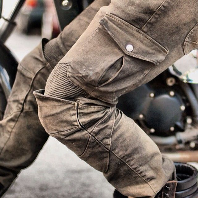 There is something about these. I think I would feel cooler just wearing them. Uglybros USA Motorpool jeans.
