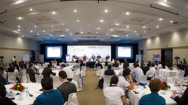 """Humberto Obed Montiel Herrera comenta sobre el Primer Foro """"Logística para la Competitividad de la Baja""""."""
