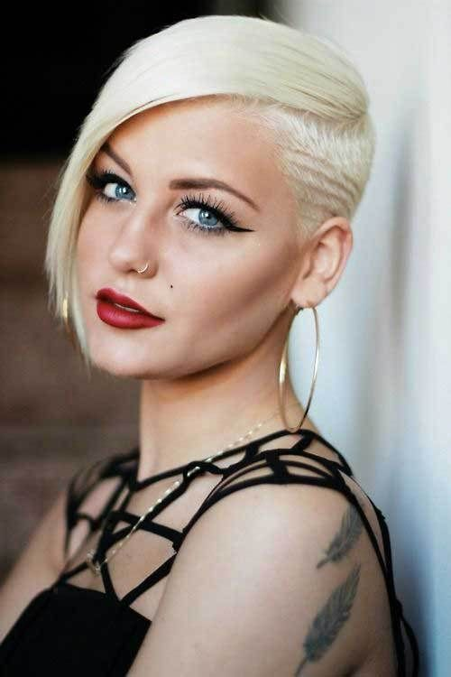 Really Cool Asymmetrical Pixie Cut Pictures - Fashionre