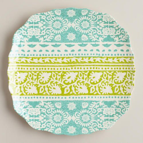Cool Ban Tai Plates, Set of 2 @Cost Plus World Market