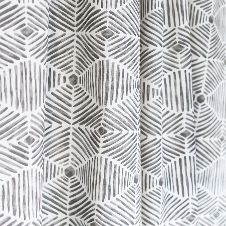 Grey and white basket weave inspired fabric suitable for indoor and outdoor. Available by the yard at www.tonicliving.com