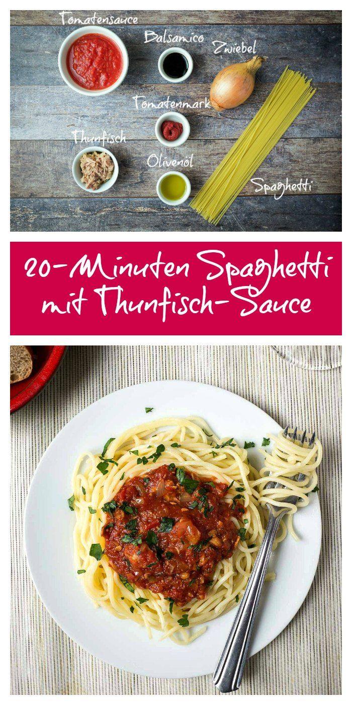 #pasta #schnellepasta #thunfisch #schnell #spaghetti #Thunfischsauce #20minuten #rezept
