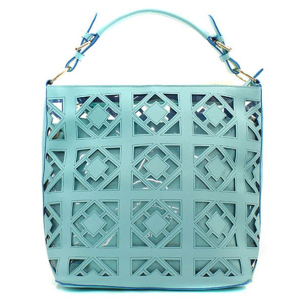2 in 1 McKayla Tote Set in Turquoise on Emma Stine Limited a8473359f77c7