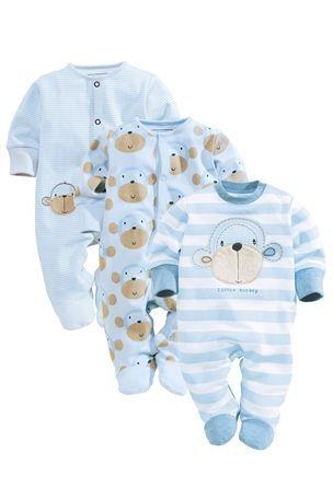 Monkey Sleepsuits