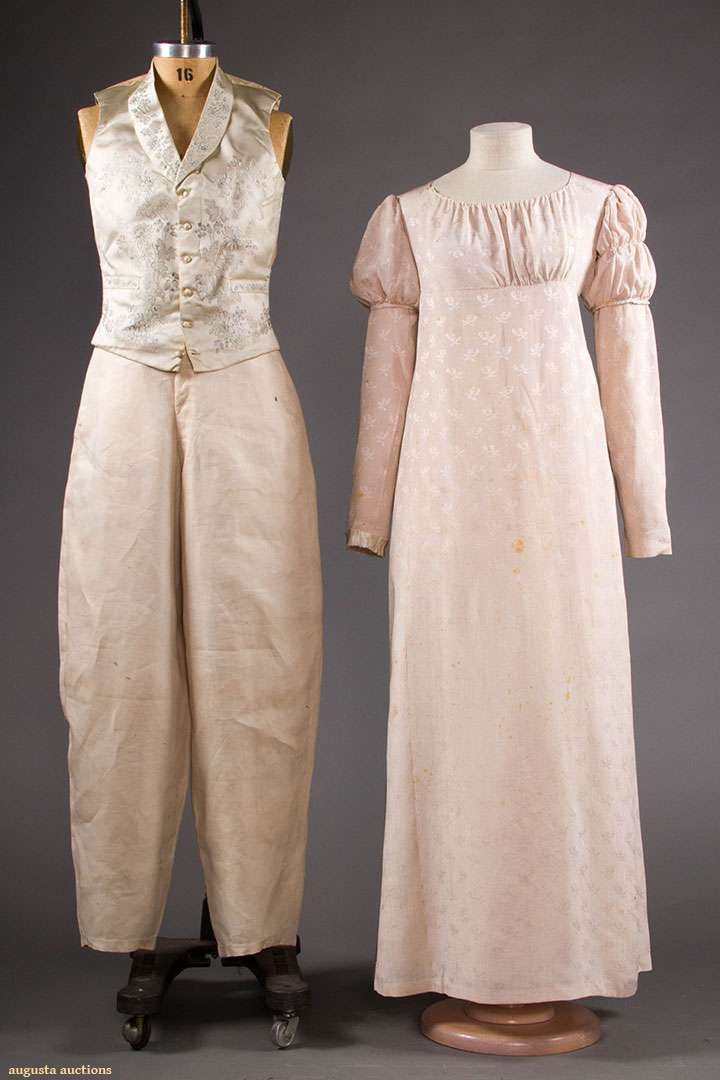 BRIDE & GROOM WEDDING GARMENTS, 1824 augusta auctions 2018