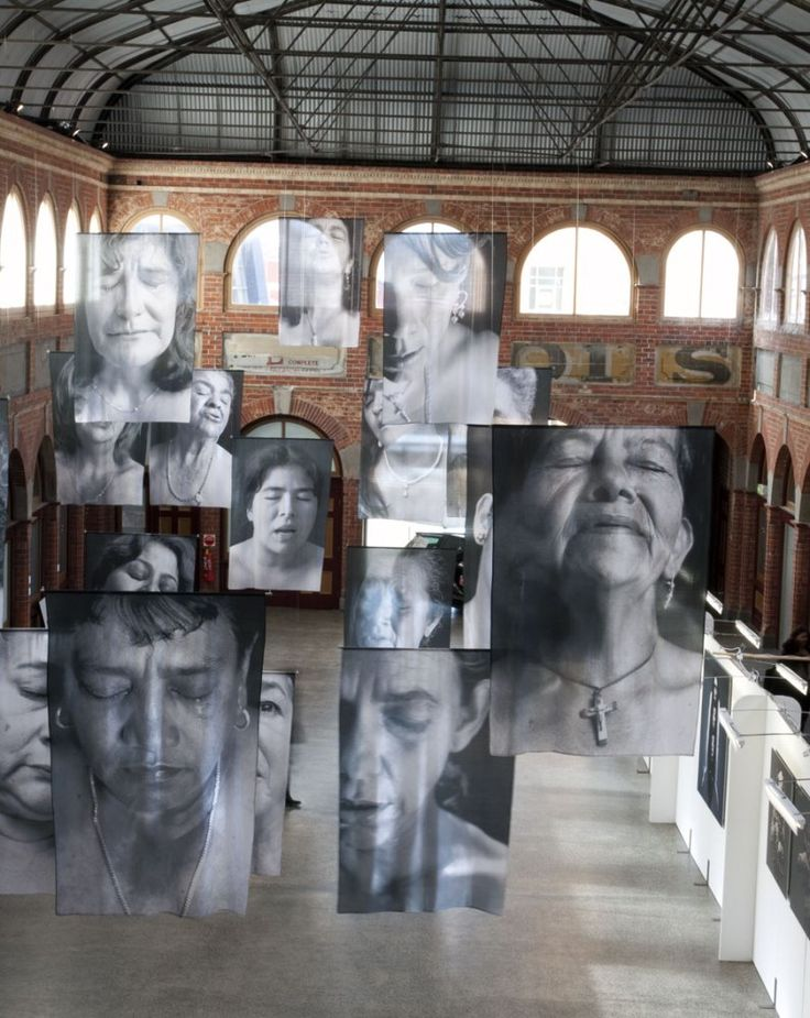 Exhibition: 'Sudarios (Shrouds)' by Erika Diettes at the Mining Exchange, Ballarat International Foto Biennale. Catalogue essay: 'Intimations of Mor(t)ality: Sudarios (Shrouds) by Erika Diettes' by Dr Marcus Bunyan http://wp.me/pn2J2-4tD