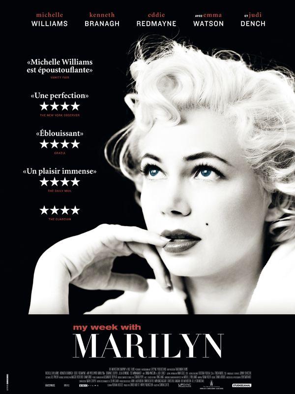 MY WEEK WITH MARILYN - Regard intime et rare sur l'icône de Hollywood, récit du lien aussi bref que puissant qui s'est noué entre cette femme exceptionnelle et un jeune assistant plateau qui a su la comprendre mieux que le reste du monde.