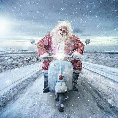 Vespa Christmas ❄Valpolo en Navidad