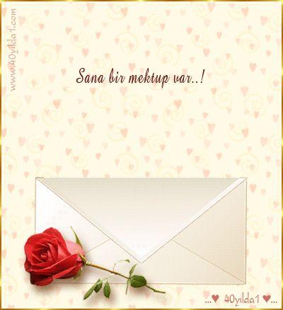 """✿ ❤ Perihan ❤ ✿ GİF... """"Sana Bir Mektup Var"""""""