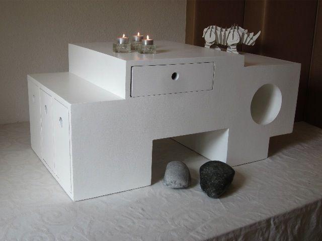 furniture made of cardboard