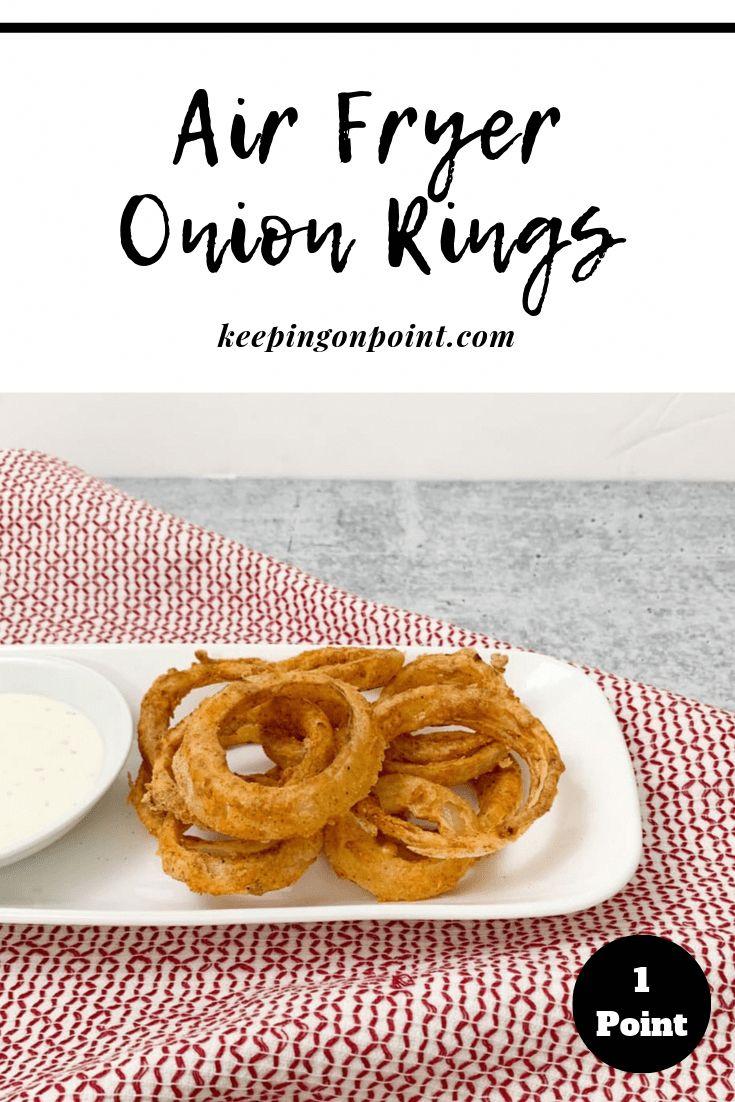 Air Fryer Onion Rings in 2020 Air fryer recipes