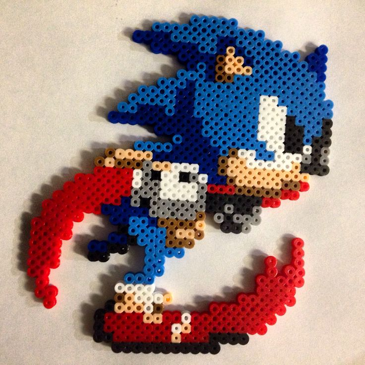 sonic running for the finish :p