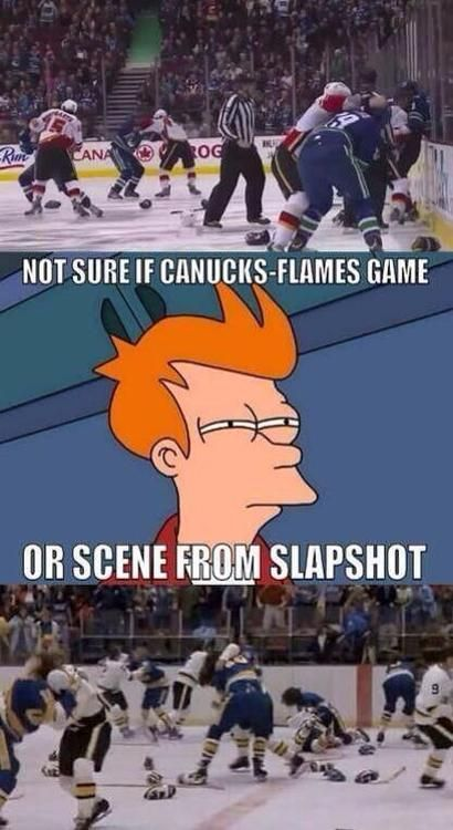 That about sums up that hockey game riiiiiight there. Holy crap, what a sight!