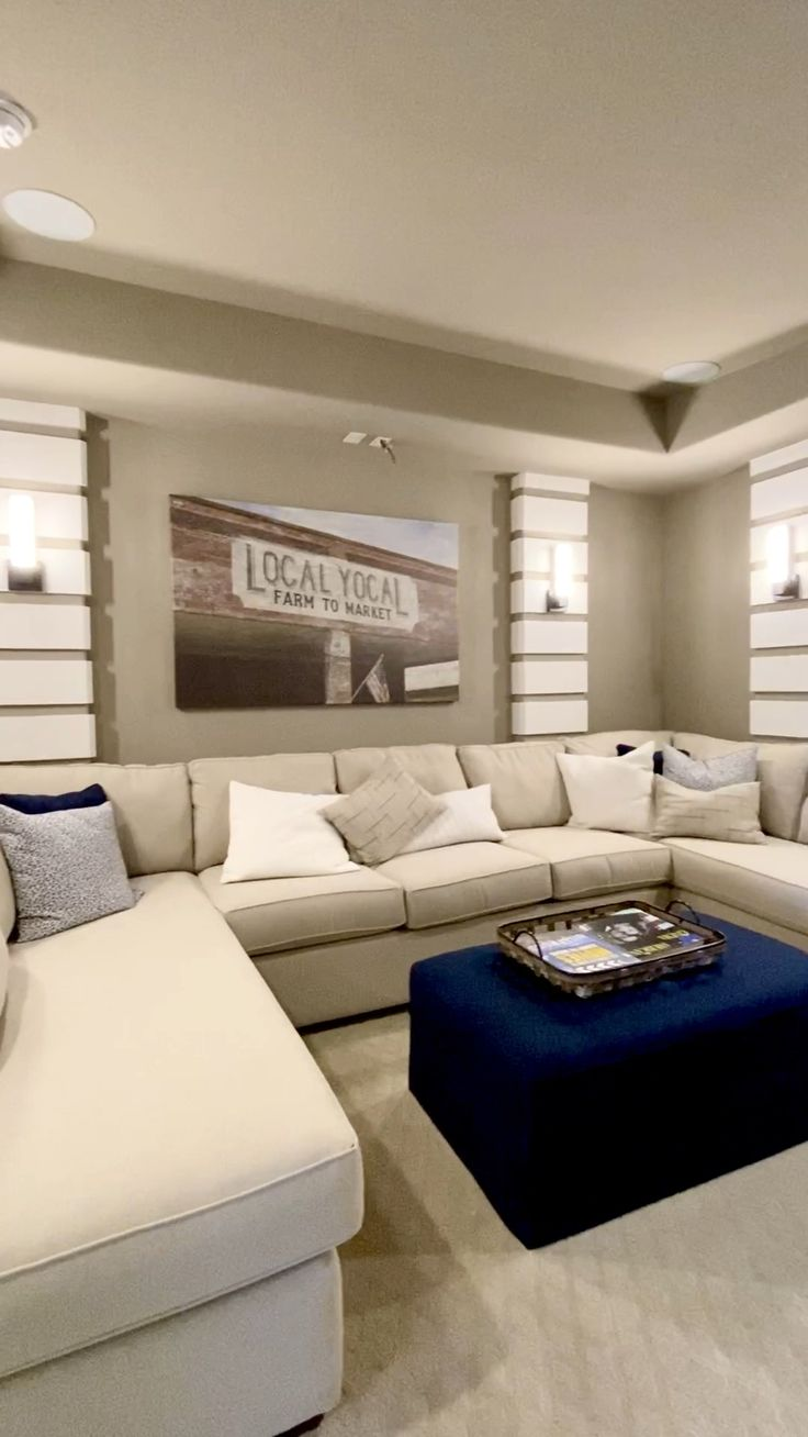 Luxury Living Room Design Ideas With Gray Wall Color