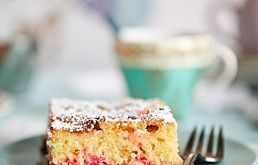 Retro recipes, Rhubarb cake and Simple syrup on Pinterest