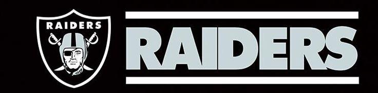 Raiders Tailgate Banner Flag 8X2FT (Las Vegas Raiders)