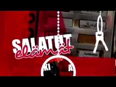 Updated opening theme of Salatut Elämät