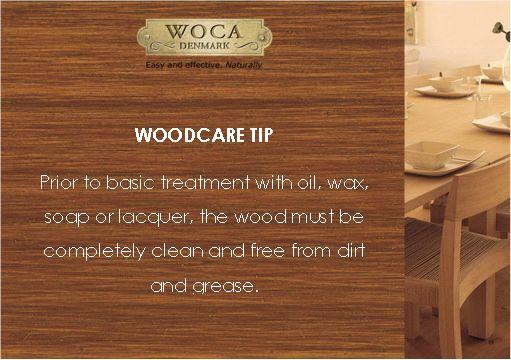 Woodcare tip - indoor