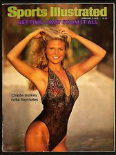 1979 Sports Illustrated SWIMSUIT ISSUE   CHRISTIE BRINKLEY  No Label   1st Cover