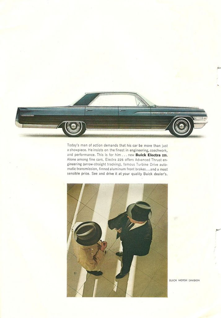 1962 Buick Electra 225 ad