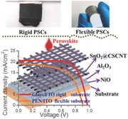 Carbon Nanotube Based Inverted Flexible Perovskite Solar Cells with All-Inorganic Charge Contacts