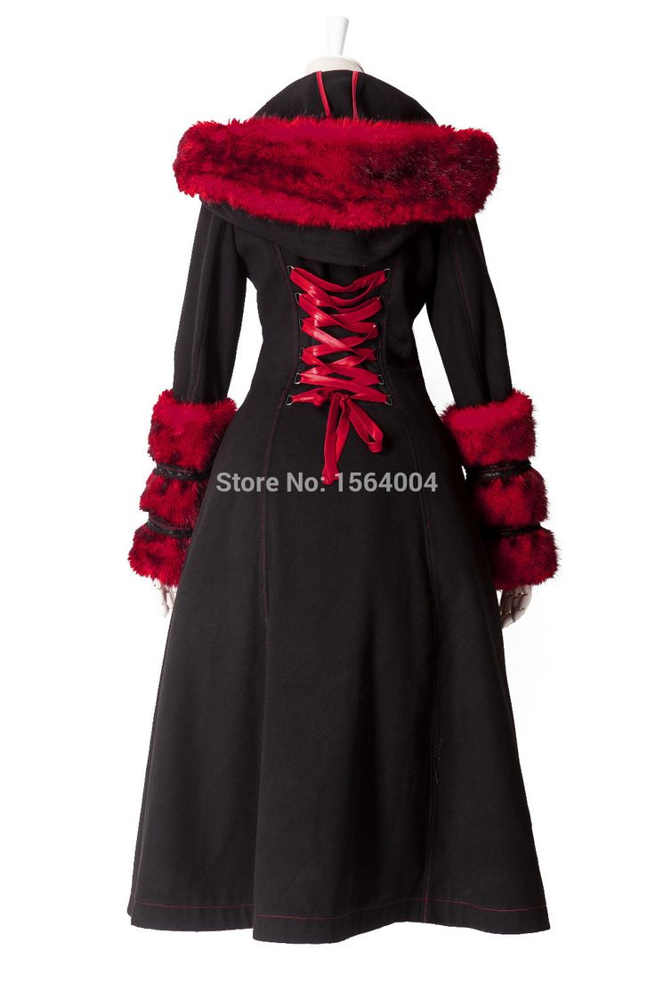 2016 neue Pyon Pyon Lolita Winter Damenmantel Jakcet Reversible Goth Punk Kera Langes kleid Hoodie S 3XL in 2016 neue Pyon Pyon Lolita Winter Damenmantel Jakcet Reversible Goth Punk Kera Langes kleid Hoodie S-3XL aus Wolle & Blends auf AliExpress.com | Alibaba Group