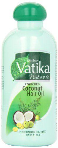 Dabur  Vatika Hair Oil 300ml Bottles Pack of 4 *** Click image to review more details.