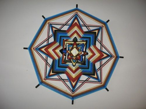 Strong - 18 inch, 8 sided Ojo de Dios
