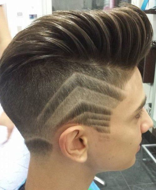 Hairstyles Side Shave With A Design S
