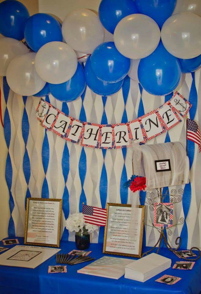 17 best ideas about navy party themes on pinterest navy for Air force decoration