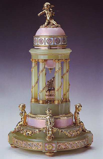 71 best faberge images on pinterest antique jewellery faberge the colonnade egg henrik emanuel wigstrm for faberg 1910 the royal collection this imperial easter egg which incorporates a rotary clock in its design negle Gallery