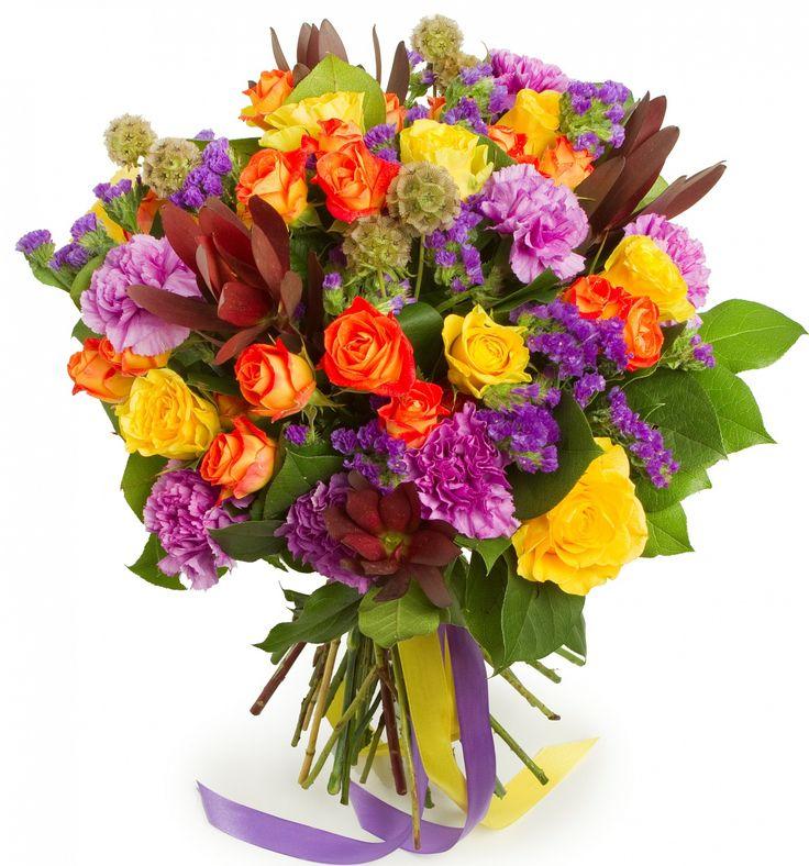 Букет из Розы Водевиль, цены от Flor2u.ru