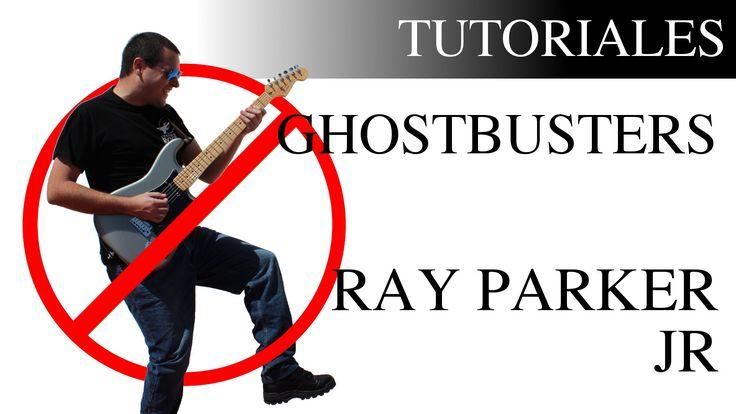 Aprende a tocar Los cazafantasmas de Ray Parker Jr en la guitarra